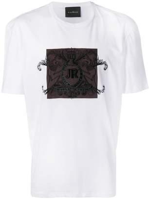John Richmond embroidered logo T-shirt
