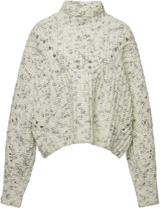 Isabel Marant Jilly Arty Chunky-Knit Wool Sweater