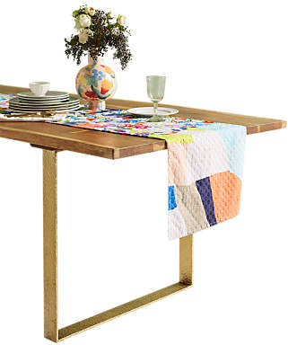 Anthropologie Martina Table Runner, L229cm