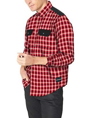Calvin Klein Jeans Men's Denim Utility Shirt