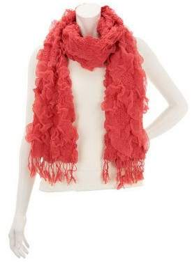 Layers by Lizden Sunflower Bubble Scarf with Fringe