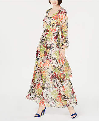 INC International Concepts I.n.c. Floral-Print Maxi Dress