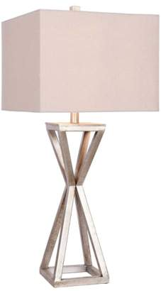 Jalexander Lighting JAlexander Carrie Open Caged Metal Table Lamp