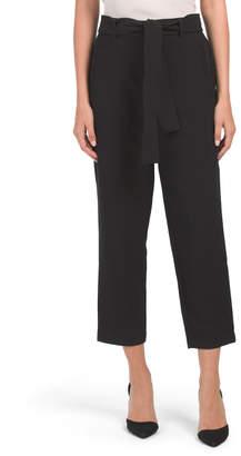 Contemporary Fit Belt Pants