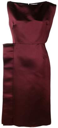 Lanvin structured midi dress