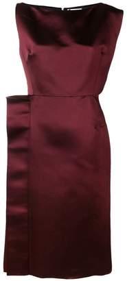 Lanvin structured midi dress