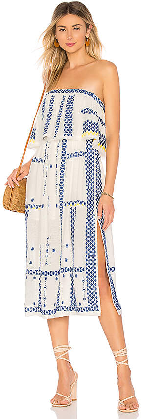 Wild Romance Embroidered Dress