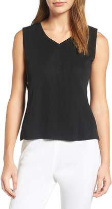 Ming Wang Sweetheart Neck Tank
