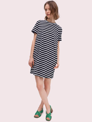 Kate Spade stripe zip-back knit dress