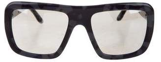 Stella McCartney Reflective Square Sunglasses