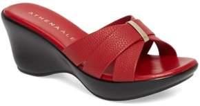 Athena Alexander Serra Wedge Slide Sandal