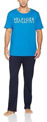 Tommy Hilfiger Men's Ss Pyjama Set,Medium