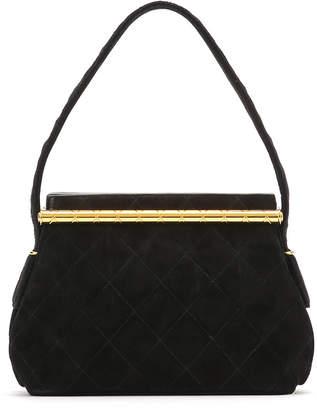 Chanel (シャネル) - Luxury Brands Vintage Bags & Accessories CHANEL スエード ショルダーバッグ ブラック