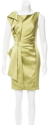 Karen Millen Draped Mini Dress w/ Tags $95 thestylecure.com