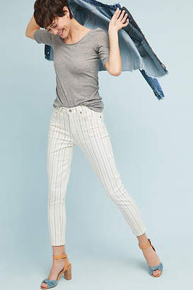 Citizens of Humanity Pinstriped Rocket High-Rise Skinny Jeans