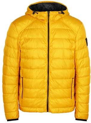 Belstaff Redenhall Yellow Quilted Shell Jacket