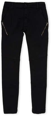 Minoti (Boys 8-20) Black Twill Pants