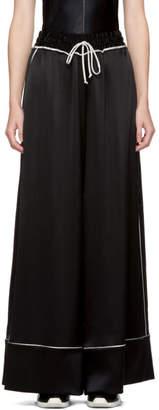 Off-White Black Pajama Lounge Pants
