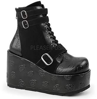 Demonia Women's Con55/Bvl-Vel Ankle Bootie