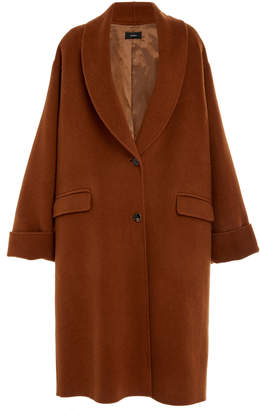 Joseph Kara Wool Long Line Coat