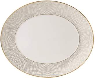 Wedgwood Arris Oval Serving Platter (33cm)