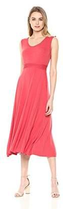 Max Studio Women's Sleeveless Fit and Flare Dress