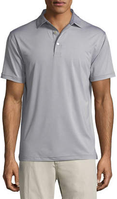 Peter Millar Solid Jersey Polo Shirt
