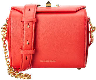 Alexander McQueen Box Bag 10 Leather Shoulder Bag