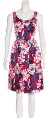 Prada Silk Hibiscus Dress