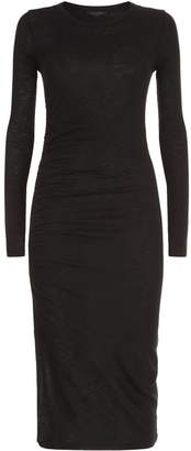 AllSaints Tina Ruched Dress