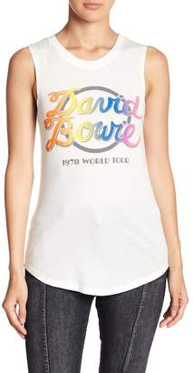 Knit Riot David Bowie Muscle Tank Top