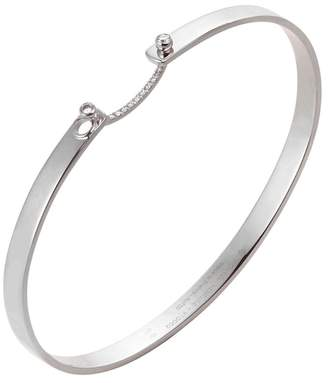 Nouvel Heritage Business Meeting Bangle - White Gold