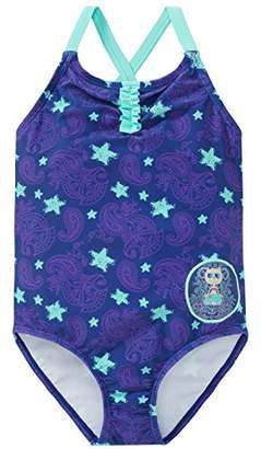 Schiesser Girl's Beach Cat Zoe Badeanzug Swimsuit