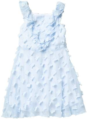 Pippa & Julie Ruffle 3D Flower Dress (Big Girls)