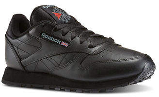 Reebok Womens Franchise Five Leather Running Sneakers