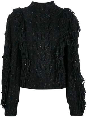 Ulla Johnson fringed knitted sweater