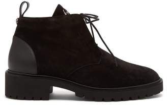 Giuseppe Zanotti Buddie Suede Boots - Mens - Black