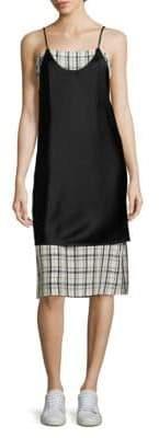 Public School Blair Kelly Plaid Slip Dress
