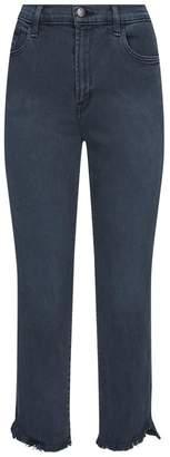 J Brand Ruby High-Rise Cigarette Jeans