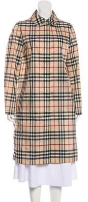Burberry Lightweight Knee-Length Coat