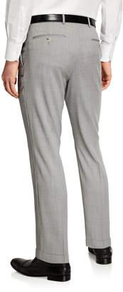Neiman Marcus Men's Super 120's Super Slim Fit Stretch Pants