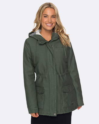 Roxy Womens Deserted Times Hooded Parka Jacket