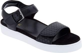Vionic Leather Adjustable Sandals - Effie
