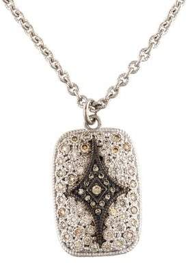Armenta Diamond Crivelli Drop Pendant Necklace