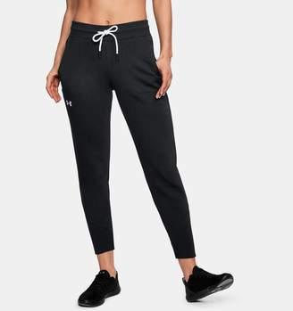 Under Armour Women's UA Slim Leg Rib Cuff Joggers