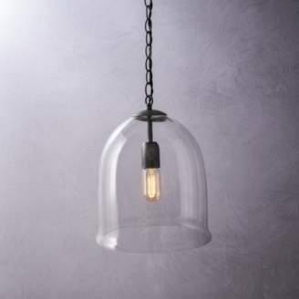 The White Company Fulton Glass Cloche Ceiling Light