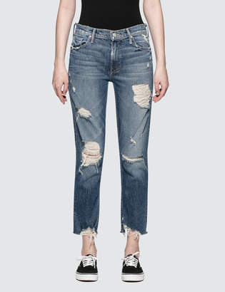 Mother The Sinner Easy Straight Jeans