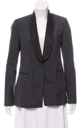 Brunello Cucinelli Shawl-Lapel Virgin-Wool Blend Blazer