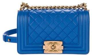 Chanel Quilted Small Boy Bag