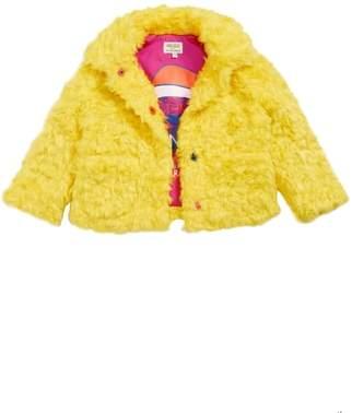 Kenzo Party Faux Fur Coat